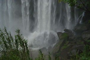 Welcome: image of waterfall and rocks